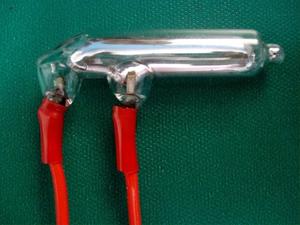 Ampola Mercurio N2 de 5 ampares